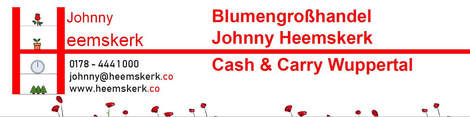 Blumengroßhandel Johnny Heemskerk, Hattingen